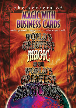 Magic with Business Cards